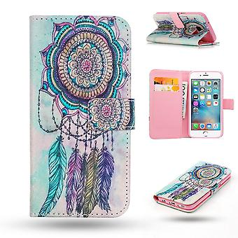 Iphone 6/6s Case/wallet leather-Dream catcher