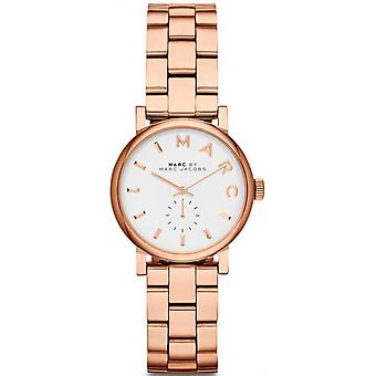 Marc by marc jacobs baker Quartz Analog Women's Watch with Stainless Steel Bracelet Gold Plated MBM3248