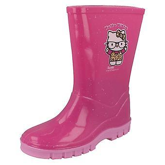 Jeunes filles Hello Kitty Glitter Wellington
