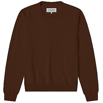 Maison Margiela Elbow Patch Pullover Jumper