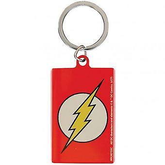DC komiks kovový klíčenku Flash