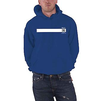 Queens Of The Stone Age Hoodie Rated R Band Logo new Official Mens Blue Pullover