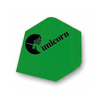 Unicorn Darts Maestro.100 Plus Flights Micron Logo Ultra Strong - Green