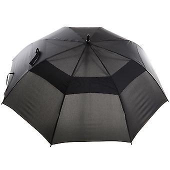Drizzles Mens Auto Double Canopy Golf Umbrella