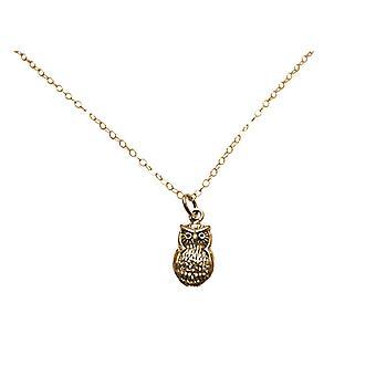 Gemshine halsband Vintage UHU 925 silver, guldpläterad eller ros