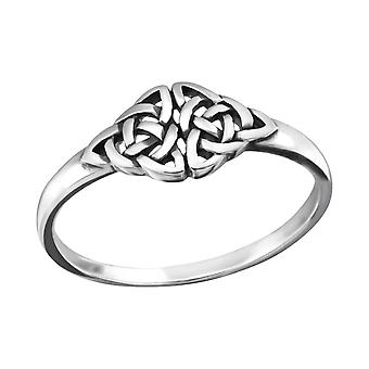 Celtic - 925 Sterling Silver Plain Rings - W32297x