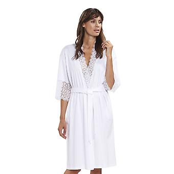 Rosch 1193125-11710 vrouwen nieuwe romantiek wit katoen Lace robe