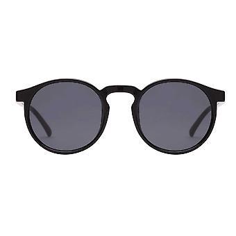 Le Specs Teen Spirit Deux Black Round Sunglasses