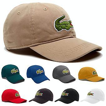 Lacoste Herren Big Croc Gabardine verstellbare Kappe