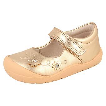 女孩 Startrite 花设计 休闲鞋 Flex