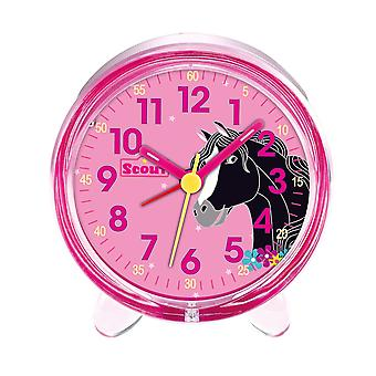 Scout girls alarm clock alarm girls favorite pink horse 280001050