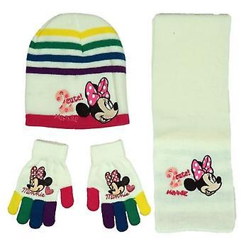 Minnie Mouse Cap + sjaal + wanten