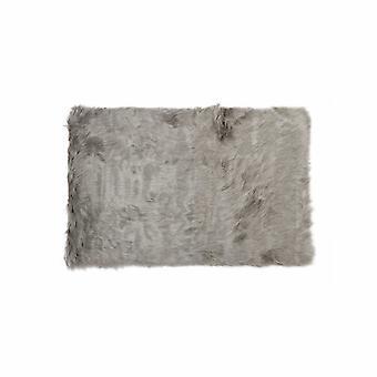 """3 """"x 5"""" harmaa suorakulmainen teko turkis-alue matto"""