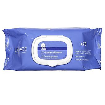 Uriage Baby 1st Cleansing Wipes 70