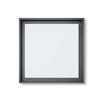 Led Deckenleuchte Wandleuchte Callas S 25W 3000K 27x27 cm IP54 dark grey 10805