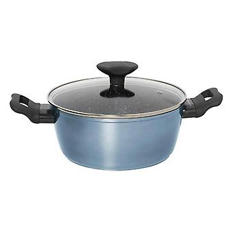Casserole with glass lid Quttin Blue