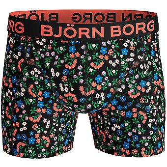 Bjorn Borg Flower Meadow Print Bóxer Trunk, Negro/multi