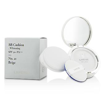 Bb cushion foundation (whitening) spf 50 with extra refill # no. 21 beige 164257 2x15g/0.5oz
