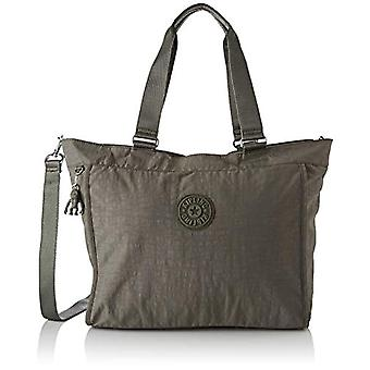 Kipling New Shopper L - Green Women's Tote Bags (Seagrass) 48.5x34x17.5 cm (B x H T)