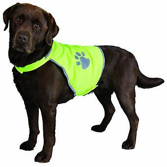 Trixie reflekterande hund päls väst (hund, hundkläder, västar)