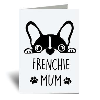 Frenchie Mor A6 Lykønskningskort