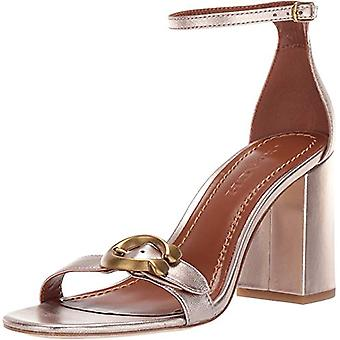 Coach Womens Maya 85 mm. Sandal with Signature Buckle
