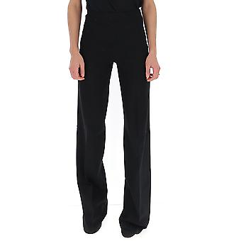 Semi-couture S9an58y690 Women's Black Viscose Pants