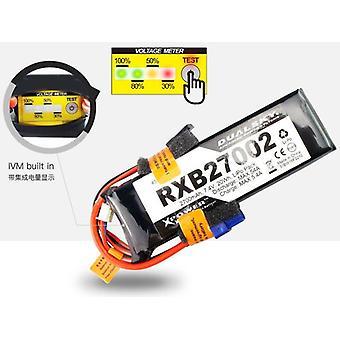 DualSky 2700mAh 11, bloco de 1V 20C lipo para TX/RX