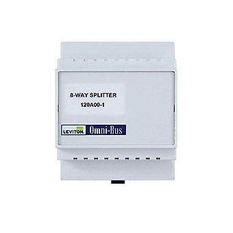 Leviton Omni Bus Splitter Box 8 Way Din Rail