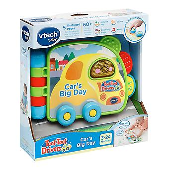 VTech Toot-Toot Drivers Car''s Big Day Book Electronic Reading Toy
