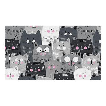 Kids Rug - Cats - Washable - 65 x 115 cm