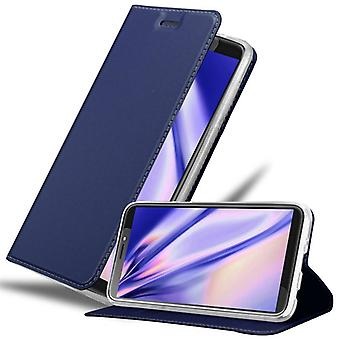Cadorabo fall för HTC Desire 12 PLUS fallfodral - telefonfodral med magnetiskt lås, stå funktion och kortfack - Case Cover Protective Case Book Folding Style