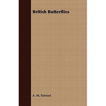 British Butterflies by Stewart & A. M.