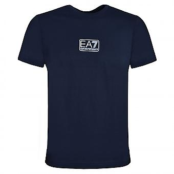 EA7 Emporio Armani Koszulka granatowa