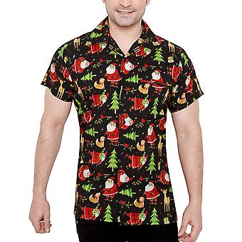 Club cubana men's regular fit classic short sleeve casualshirt ccx3