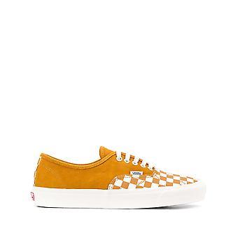 Vans Ezcr011007 Men's Orange Fabric Sneakers