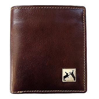 Tyler e Tyler Sparring lebres Jeans carteira de couro - Brown