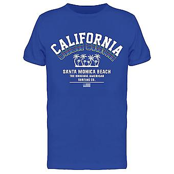 Kalifornia, Santa Moniac Beach Tee Men's -Kuva Shutterstock