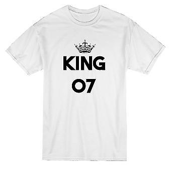 King 07 Matching Padre Hijo Graphic Men's Camiseta