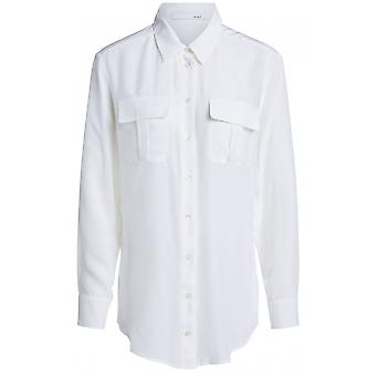 Oui Off Witte Blouse