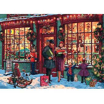Gibsons Christmas Toy Shop 1000pc Puzzle