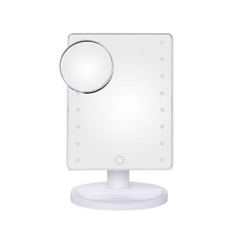 YANGFAN Desktop Touch-sensitive LED Luminous Makeup Mirror
