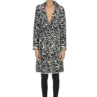 Nenette Ezgl266142 Women's White/black Wool Coat