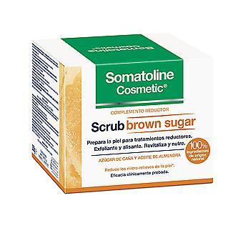 Somatoline Scrub Exfoliante Complemento Reductor Brown Sugar 350 Gr For Women
