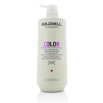 Dual senses color brilliance shampoo (luminosity for fine to normal hair) 215845 1000ml/33.8oz