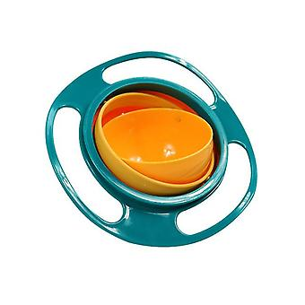 Universal Rotary Gyro Bowl - Practical Design With Balance, 360 Rotate, Spill