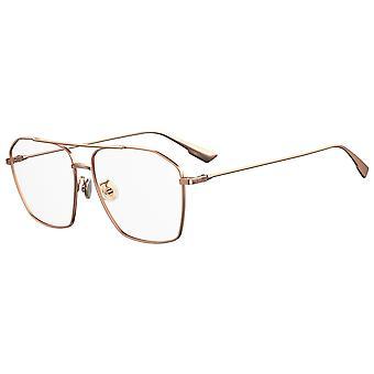 Dior STELLAIRE O14F ASIAN FIT DDB Gold Copper Glasses