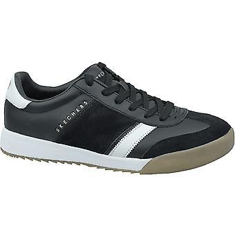 Skechers Zingerscobie 52322BKW evrensel tüm yıl erkek ayakkabı