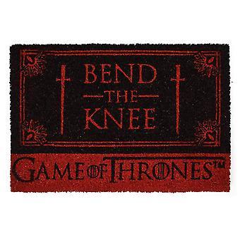Game of Thrones, doormat-taivuta polvi