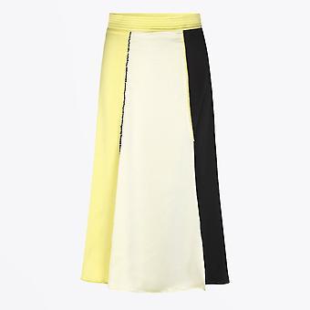 Stine Goya  - Jada Colour Block Skirt - Yellow